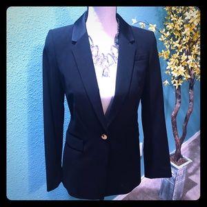 Calvin Klein one button suit jacket 4P EUC